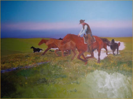 The Rangeland Art of Patrick Landes